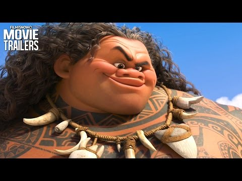 Moana: Dwayne Johnson's Maui comes to life in the first trailer