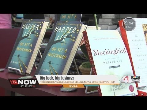 Harper Lee novel brings business to book stores