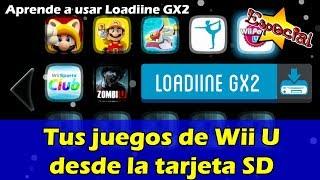 Tus juegos de Wii U desde la tarjeta SD (loadiine gx2)