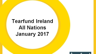 TearFund Night with Dandin Espina 29th January 2017 All Nations Church
