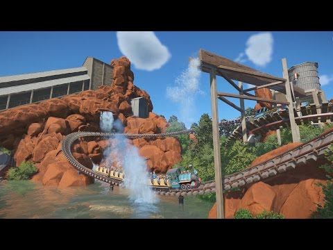 Planet Coaster - Calamity Mine (Walibi Belgium, Recreation)