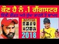 Top Gangsters of Punjab || 2018 || Most Wanted Gangsters || Details