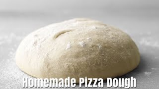 HOMEMADE PIZZA DOUGH - How To Make Pizza Dough - Simple Cooking Videos