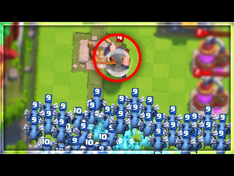 CAN ONE EXECUTIONER DESTROY 50 MINIONS in Clash Royale!?
