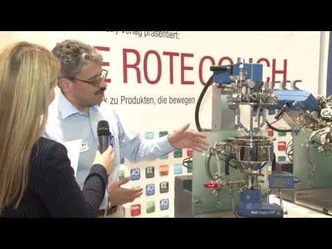 magic PLANT von IKA-Werke, ROTE COUCH EXPRESS, Powtech 2013