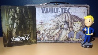 fallout 4 lunchbox unboxing bobblehead