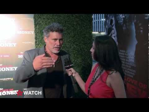 """Steven Bauer red carpet interview at """"For the Love of Money"""" premiere"""