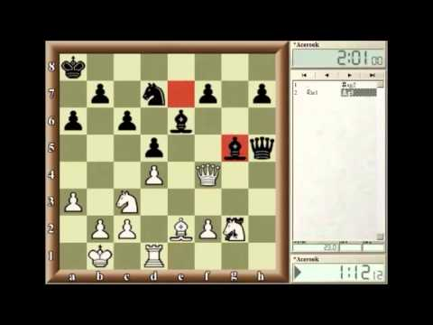 Acerook teaching Chess Tactics: Discovery Attack & Check, and Double Checks