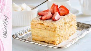Самый вкусный рецепт торта Наполеон - классический | Рецепт