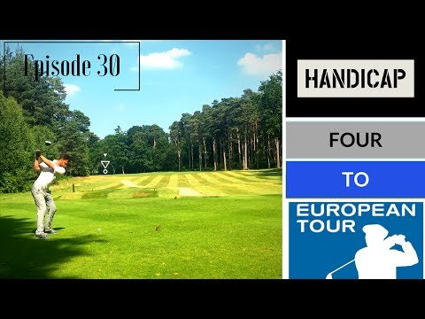 Handicap 4 to European Tour: Army GC Full Practice Round