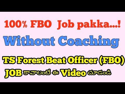 TELANGANA FOREST BEAT OFFICER JOB SYLLABUS /  TELANGANA BEAT OFFICER PREVIOUS PAPERS/NOTIFICATION