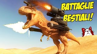 IL NUOVISSIMO GIOCO DI BATTAGLIE CON GLI ANIMALI ARMATI! - Beast Battle Simulator ITA