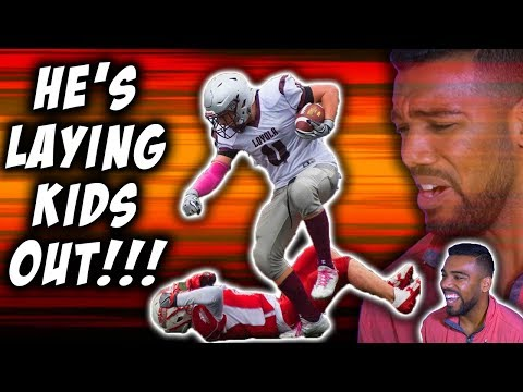 The *BEST* Defensive End In CANADA!!!- Keanu Yazbeck Highlights [Reaction]