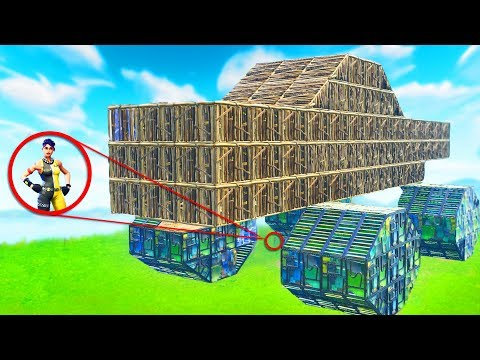 BUILDING A MONSTER TRUCK IN FORTNITE | Fortnite Battle Royale