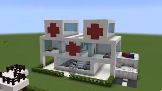 Hastane Vs Okul - Minecraft Modern Evler 8 W/ Han Kanal
