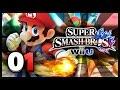 Super Smash Bros Wii U - Classic Mode w/ Mario & Kirby Co-op (HD)