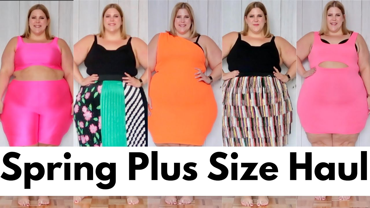 5f08e305b00 Spring Plus Size Clothing Haul - YouTube