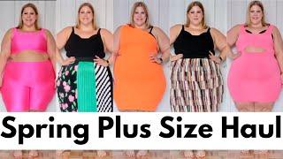 Spring Plus Size Clothing Haul
