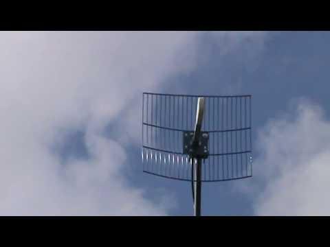 Интернет в деревне  // Эффективность широкополосной параболической антенны