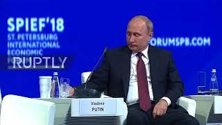 Russia: World needs 'trade peace' instead of trade wars - Putin