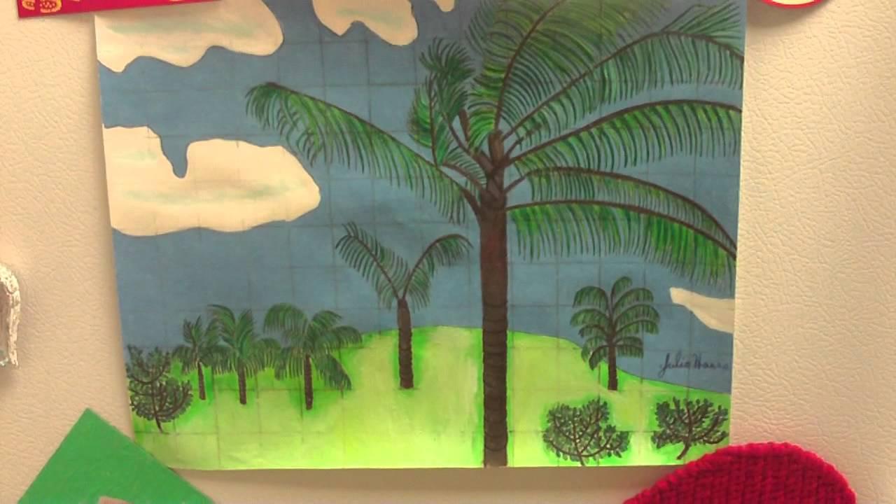 The Hawaiian Palm Tree Drawing - YouTube  Hawaiian Palm Tree Drawings
