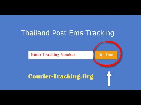Thailand Post Ems Tracking Guide