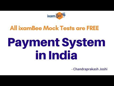 Payment and settlement system in India expalined by Chandraprakash Joshi