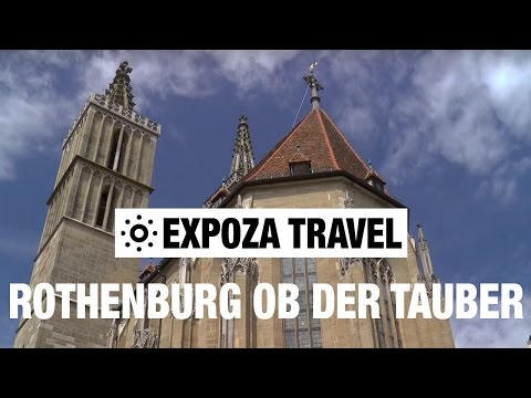 Rothenburg ob der Tauber (Germany) Vacation Travel Video Guide