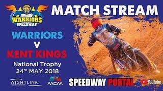 Isle of Wight 'Wightlink Warriors' vs Kent 'Kings' : National Trophy : 24/05/2018