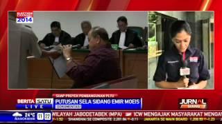 Emir Moeis Disidang Terkait Suap PLTU Tarahan