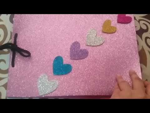 Very good scrap book idea for school projects