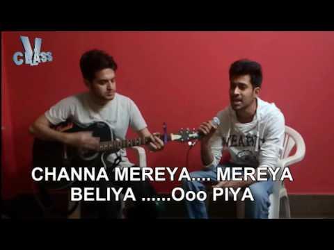 Acha Chalta Hoon (Channa Mereya) With Lyrics Unplugged Guitar Version By D-Vishal