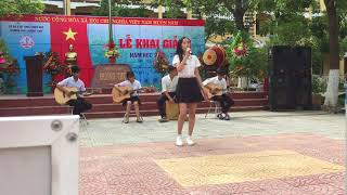 Giấc Mơ Thần Tiên Guitar Cajon THPT Hương Thủy