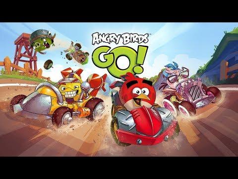 Мультфильм для Малышей Смотреть онлайн Гонки Машинки Angry Birds