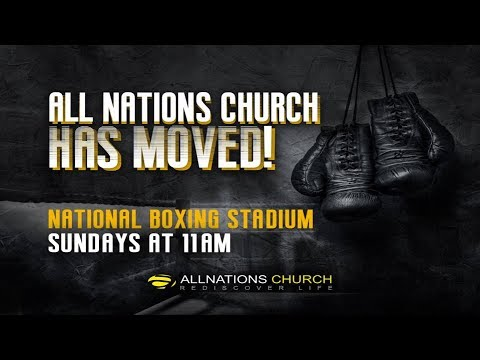 """Dare To Dream!"" - Pastor John Ahern - All Nations Church - National Stadium - 2nd July 2017"