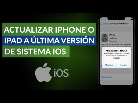 Cómo Actualizar mi iPhone o iPad a la Última Versión de Sistema iOS
