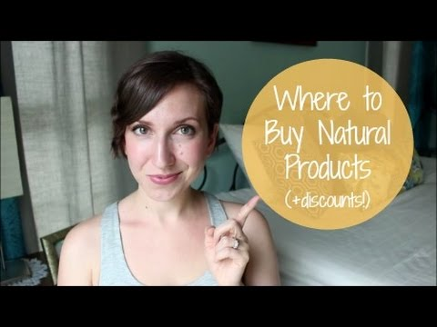 Where to Buy Natural Products Online