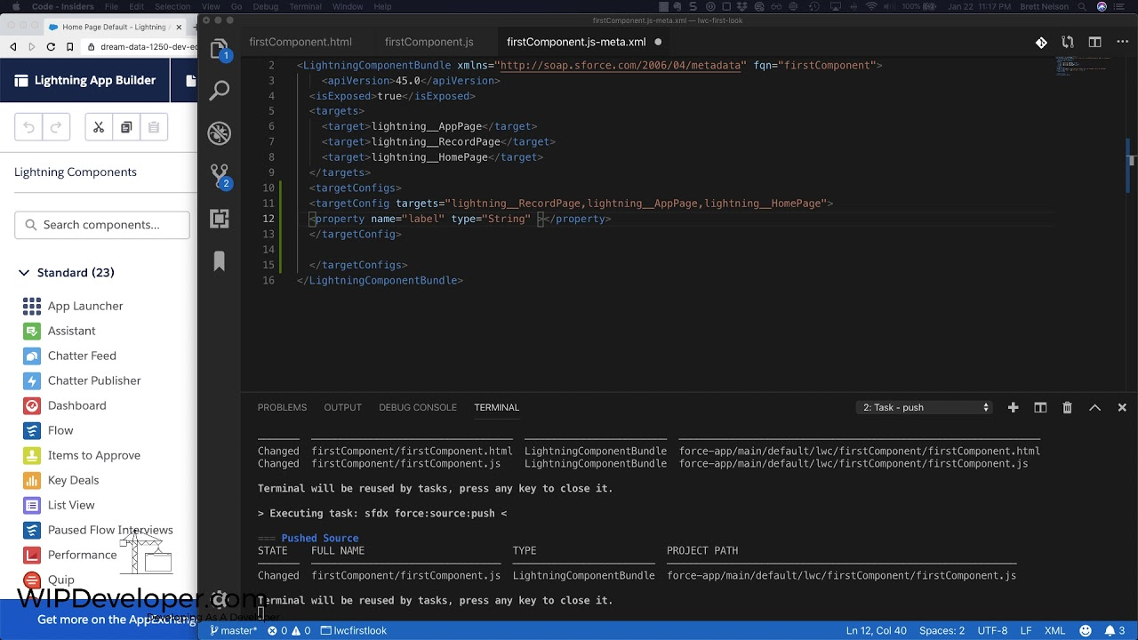 LWC – First Look – Add Public Property - WIPDeveloper com