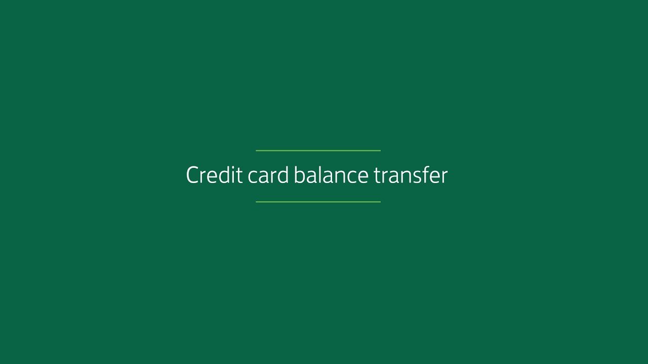 Whats a credit card balance transfer lloyds bank video youtube whats a credit card balance transfer lloyds bank video reheart Choice Image