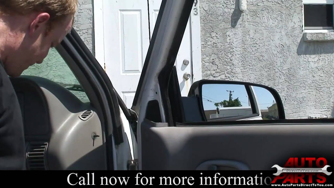 1995-1998 Chevrolet C1500 Side View Mirror - YouTube