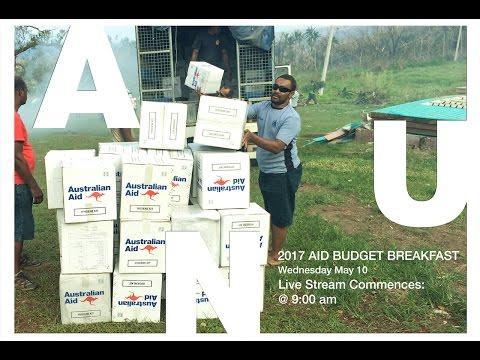 2017 aid budget breakfast