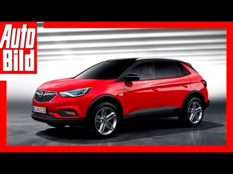 zukunftsaussicht opel suv grandland x 2017 youtube. Black Bedroom Furniture Sets. Home Design Ideas