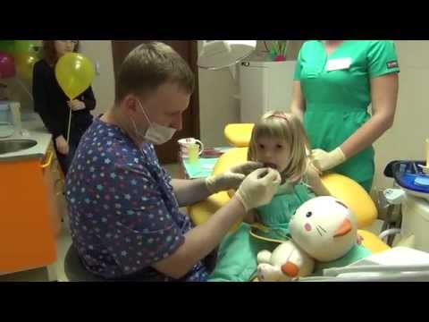Адаптация ребенка к приему стоматолога