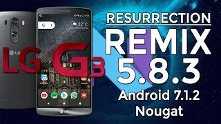 LG G3 | Resurrection Remix N v5.8.3 | Android 7.1.2 Nougat [MAGISK] [OMS]