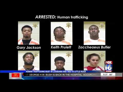 Six Arrested in Human Trafficking Bust With Ties to Little Rock