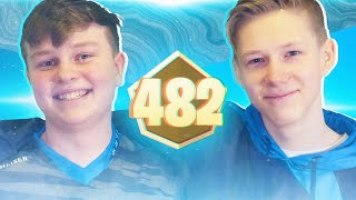 WE BROKE EU's RECORD || Duos Cash Cup Highlights w/ Benjyfishy [ROUND 2]