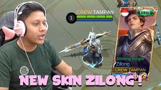 SKIN BARU ZILONG ! COMEBACK ZILONG ?! - Mobile Legends Indonesia