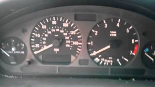 BMW E36, How to Reset Oil/Inspection Indicator
