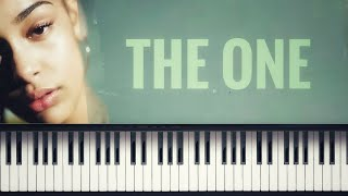 🎹🍃 Jorja Smith - The One [#ReggieWatkins Piano Cover]