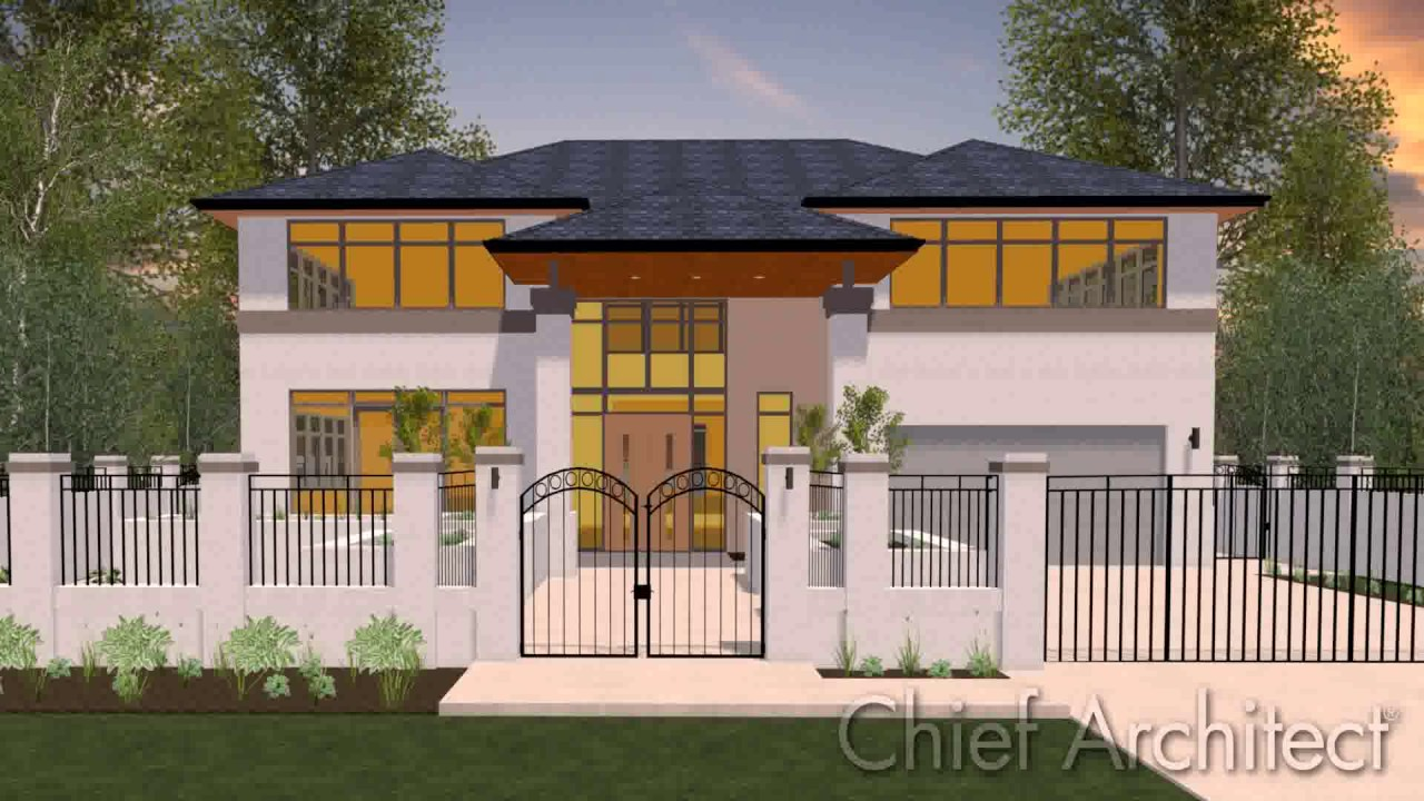 Best home design software chief architect youtube - Best home and landscape design software ...